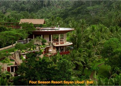 Four Seasons Sayan Ubud, Bali – Indonesia