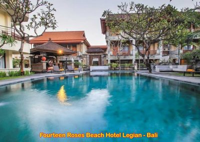 Fourteen Roses Beach Hotel, Bali – Indonesia