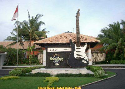 Hard Rock Hotel Kuta, Bali – Indonesia