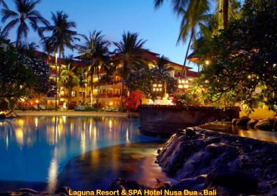 Laguna Resort & Spa Hotel Nusa Dua, Bali – Indonesia