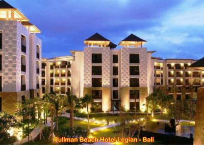 Pullman Hotel Legian, Bali – Indonesia