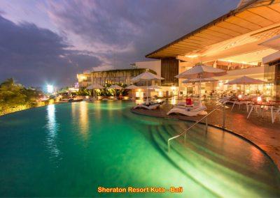 Sheraton Hotel, Kuta – Bali