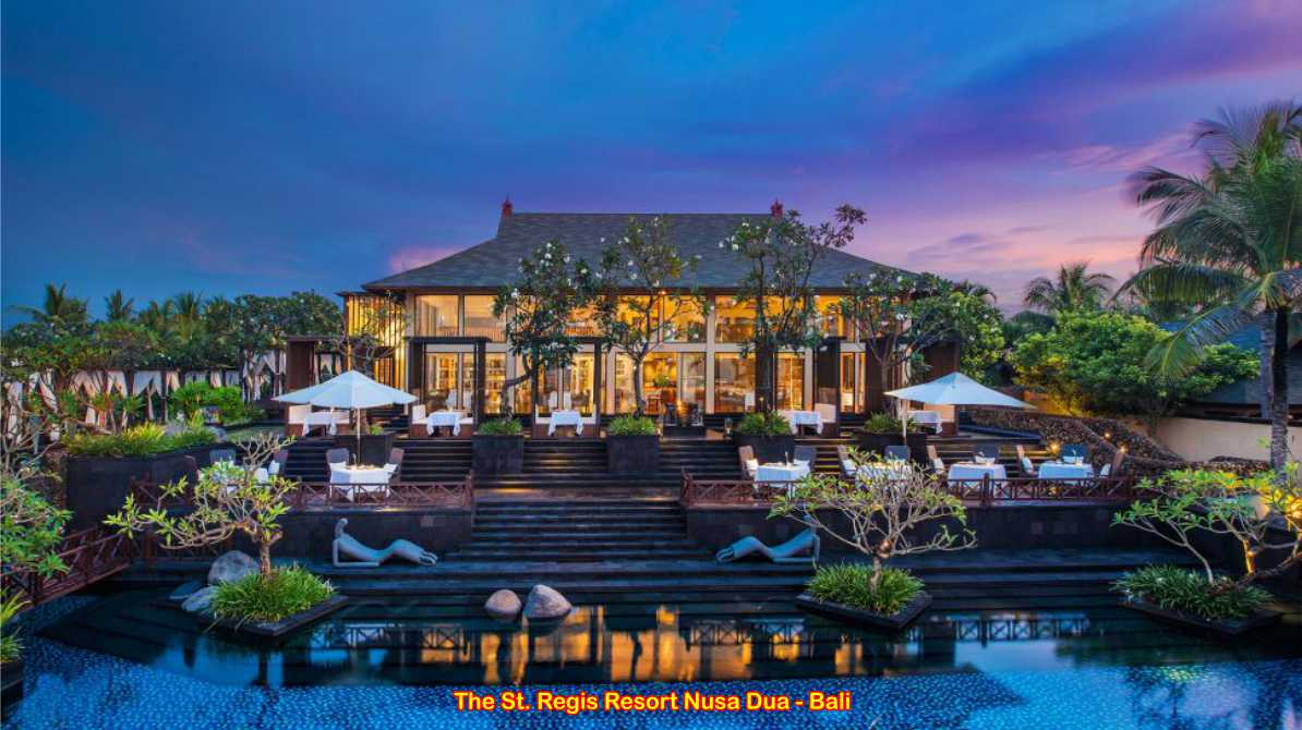 St Regis Hotel Nusa Dua, Bali - Indonesia 1