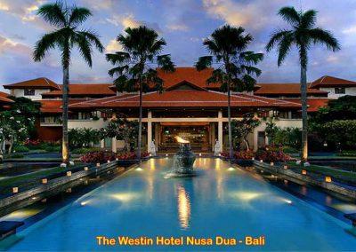 Westin Hotel Nusa Dua, Bali – Indonesia