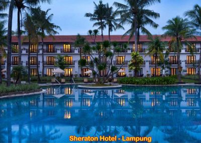 Sheraton Hotel, Lampung – Indonesia